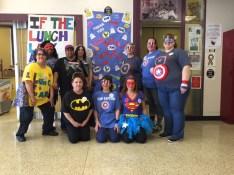 Lunch Hero Day at Brashear High School
