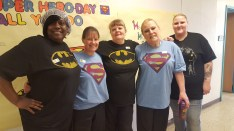 School Lunch Hero Day at South Hills Middle!