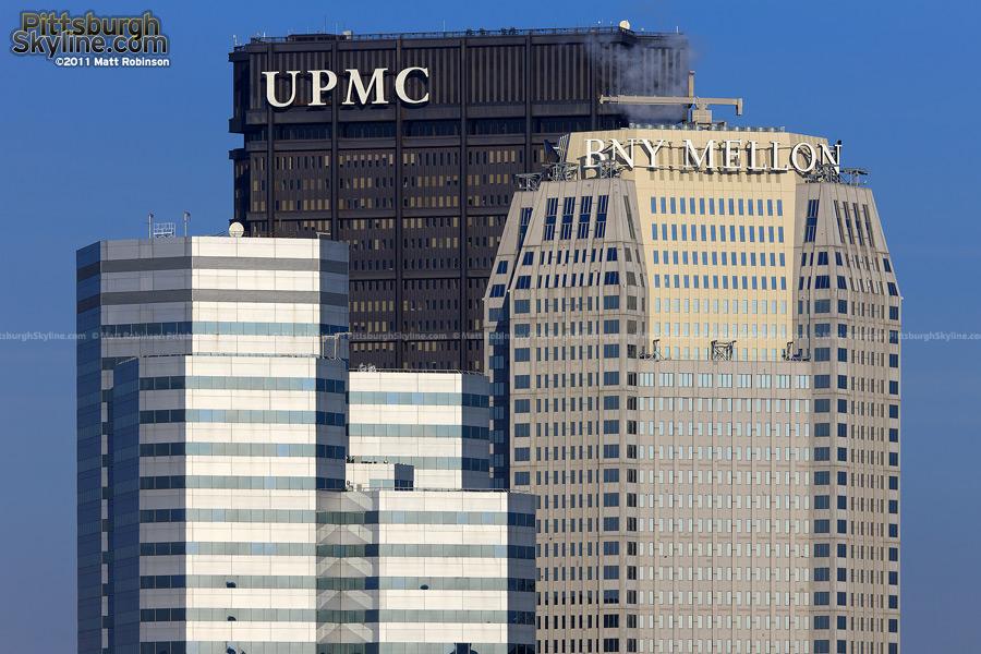 The new BNY Mellon sign