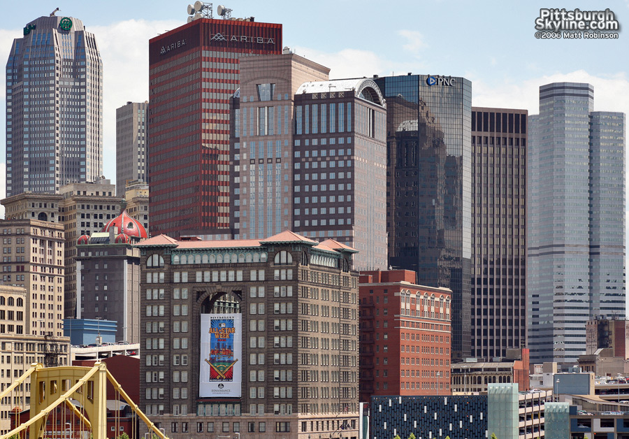 Downtown from PNC Park