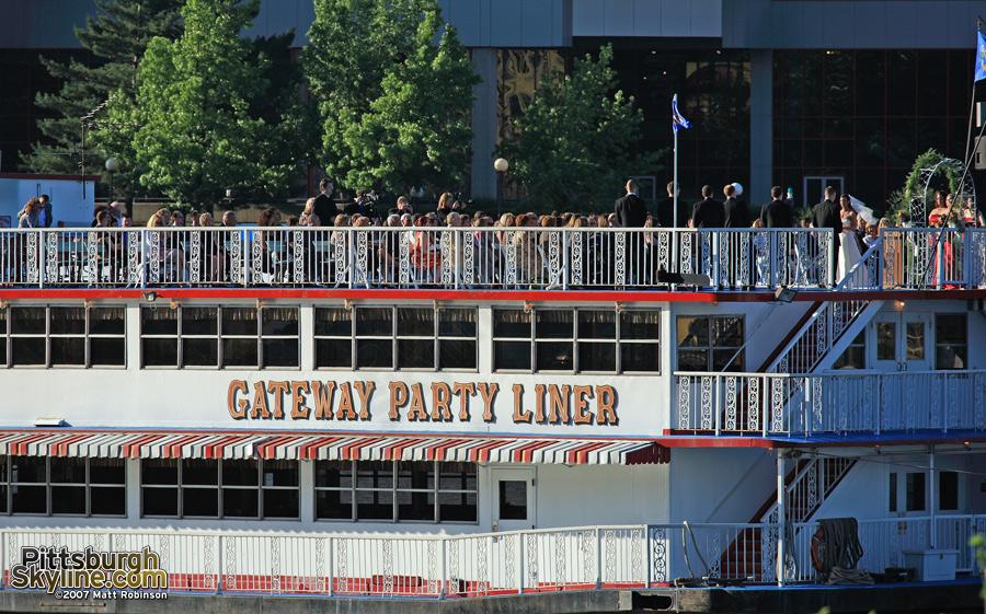 A Gateway Clipper wedding