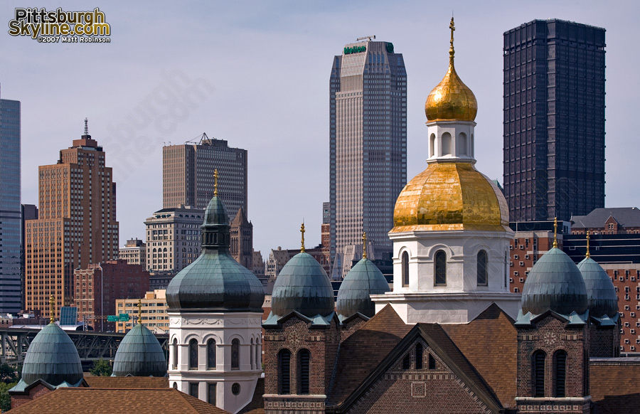 Ukrainian Catholic among Skyscrapers.