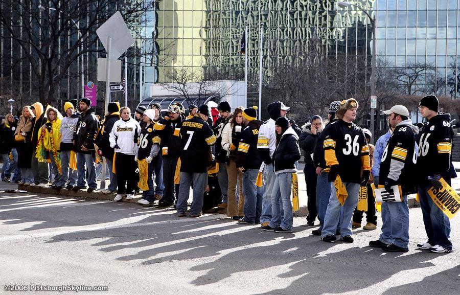 2006 Steelers Super Bowl Parade