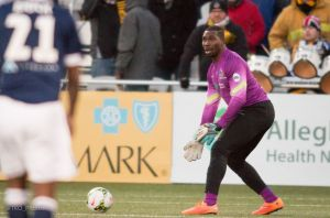 There is a real good chance we may see Ryan Thompson back in net for the Riverhounds in Rochester.