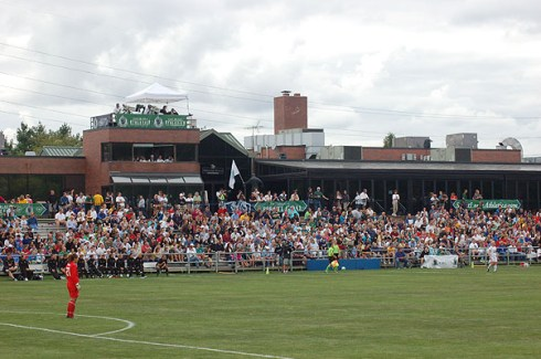 Soccer Park in Fenton, MO, will play host to its first USL regular season game tonight before an expected sellout crowd