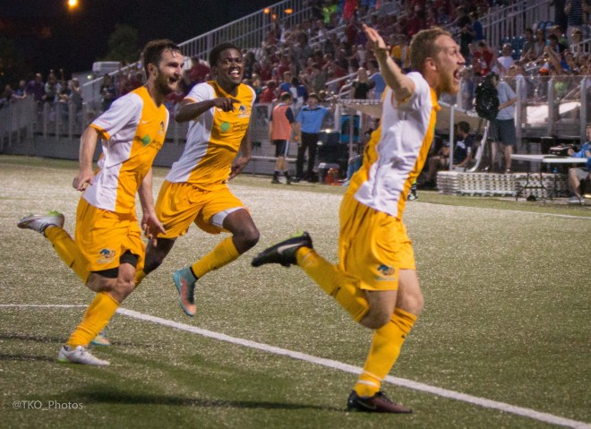 The Riverhounds completed a miracle comeback at Highmark Stadium on Saturday.