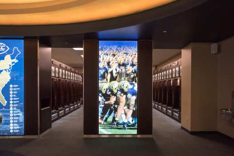 Pitt Locker Room (Photo by: Dave DiCello)