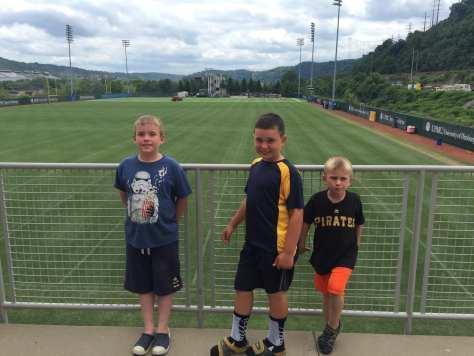 Ryan, Charlie and Luke