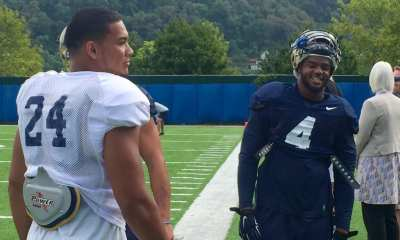 James Conner and Bam Bradley