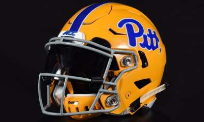 Pitt throwback helmet