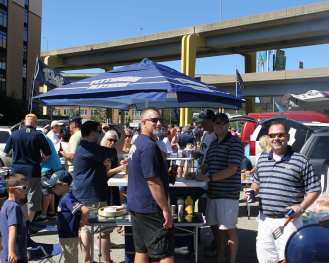 Tailgaters September 3, 2016 (Photo Credit: David Hague)