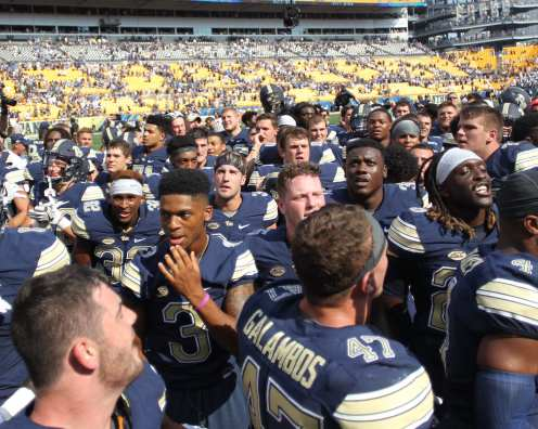 Pitt Football September 10, 2016 (Photo credit: David Hague)