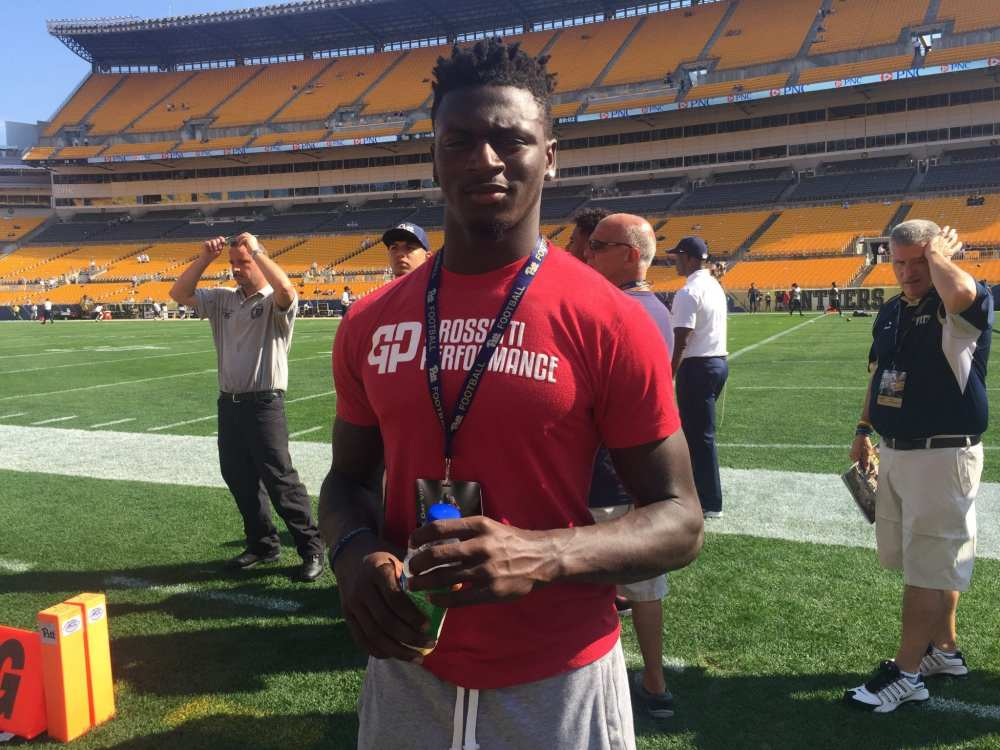 New Castle's Marcus Hooker at Heinz Field for Pitt-Penn State (Photo credit: Mike Vukovcan)