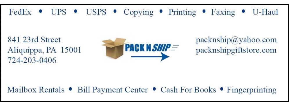 Pack N Ship