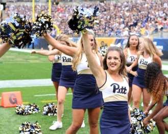 Pitt Cheerleaders September 2, 2017 -- David Hague