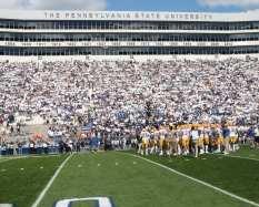 Pitt at Beaver stadium September 9, 2017 -- David Hague