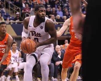Jared Wilson-Frame (0) against Syracuse on January 27, 2018 -- DAVID HAGUE
