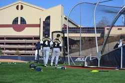 Pitt Baseball Batting