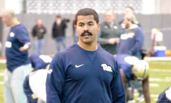 Associate strength and conditioning coach Freddie Walker has a new handlebar mustache.