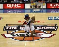 Mascot dance at the City Game November 30 2018 -- David Hague/PSN