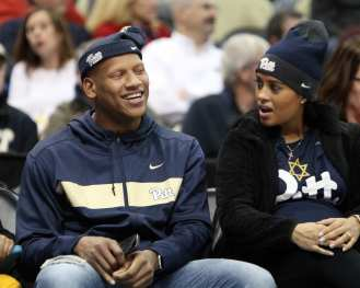 Ryan Shazier attends the City Game November 30 2018 -- David Hague/PSN
