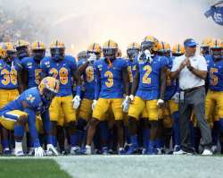 Pitt ready to take the field -- August 31, 2019 Photo By David Hague/PSN