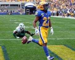 Vincent Davis (22) scored a touchdown September 7, 2019 Photo By David Hague/PSN