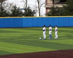 Pitt Outfielders Pitt Baseball April 6, 2021 Photo by David Hague/PSN