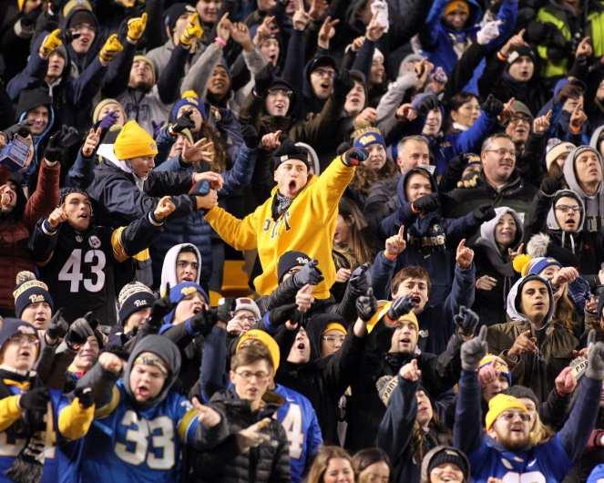 Pitt Student Section November 10, 2018 -- David Hague/PSN