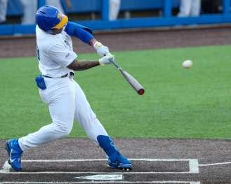 Ron Washington Jr (23) Pitt Baseball April 6, 2021 Photo by David Hague/PSN