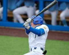 Nico Popa (1) Pitt Baseball April 17, 2021 Photo by David Hague/PSN