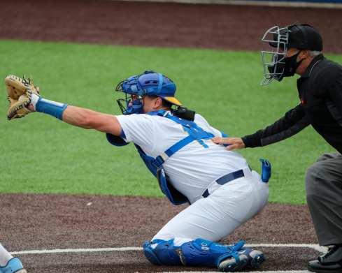 Jackson Phinney (14) Pitt Baseball April 17, 2021 Photo by David Hague/PSN