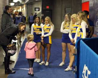 Pitt Cheerleaders December 1, 2018 -- David Hague/PSN
