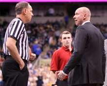 Louisville Head Coach Chris Mack January 9, 2019 -- David Hague/PSN