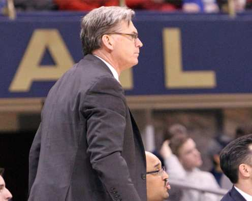 Assistant Coach Tim O'Toole January 9, 2019 -- David Hague/PSN