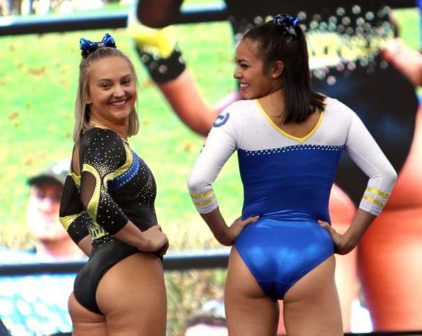 Pitt Gymnasts April 7, 2019 -- David Hague/PSN