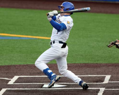 Nico Popa (1) Pitt Baseball March 26, 2021 - Photo by David Hague/PSN