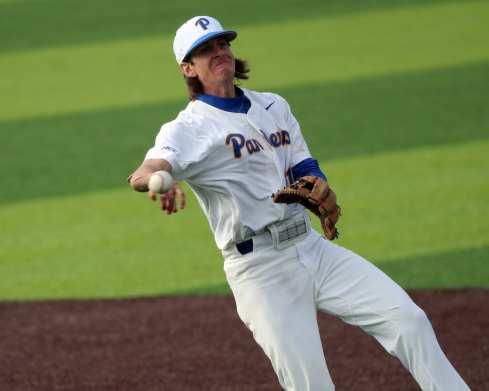 Brock Franks (11) Pitt Baseball March 26, 2021 - Photo by David Hague/PSN
