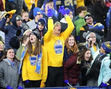 Pitt Student Section November 14, 2019 -- David Hague/PSN