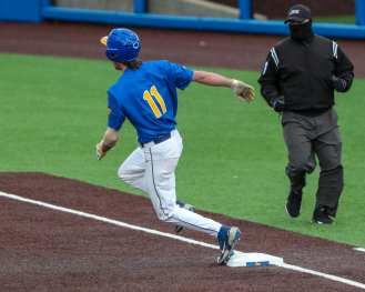 Brock Franks (11) Pitt Baseball March 28, 2021 - Photo by David Hague/PSN