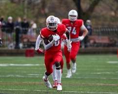 Abdul Janneh (16) Duquesne Football April 11, 2021 Photo by David Hague/PSN