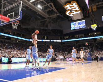 Pitt vs UNC January 18, 2020 -- David Hague/PSN