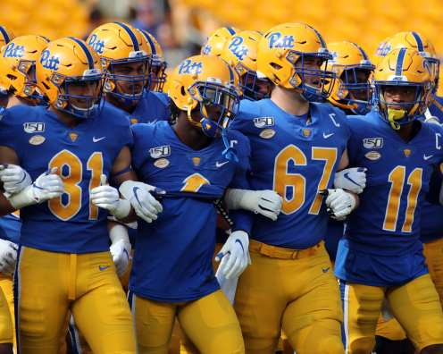 Pitt Football September 28, 2019 -- David Hague/PSN