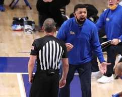 Coach Jeff Capel January 19, 2021 Photo by David Hague/PSN