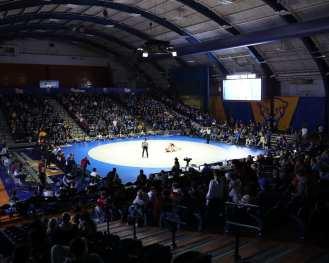 Pitt Field House Wrestling February 22, 2020 - David Hague/PSN