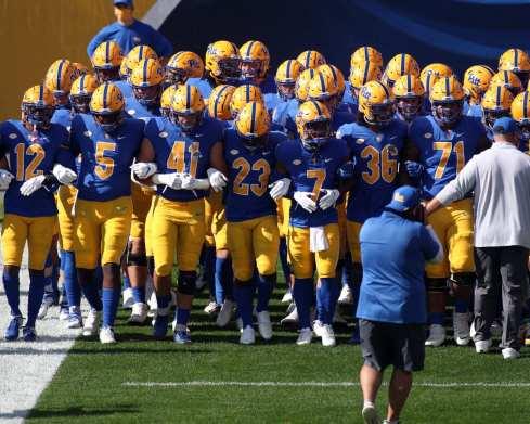 Pitt Football takes the field October 3, 2020 David Hague/PSN
