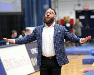 Assistant Coach Ryan Snider Pitt Gymnastics January 12, 2019 -- David Hague/PSN