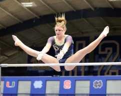 Krista Collins Pitt Gymnastics January 12, 2019 -- David Hague/PSN