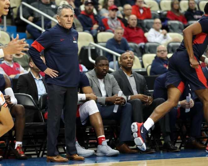 Head Coach Keith Dambrot November 5, 2019 -- David Hague/PSN