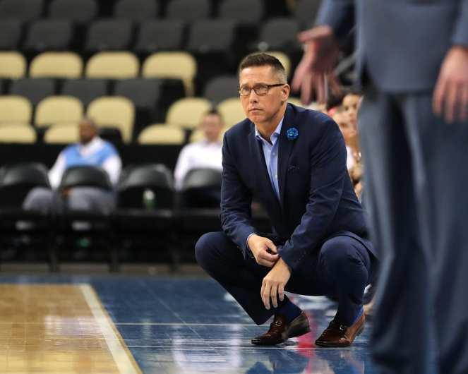 Head Coach Dan Burt November 5, 2019 -- David Hague/PSN
